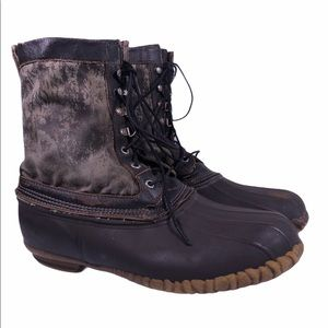 Lacrosse Rubber Camo Hunting Water Boots